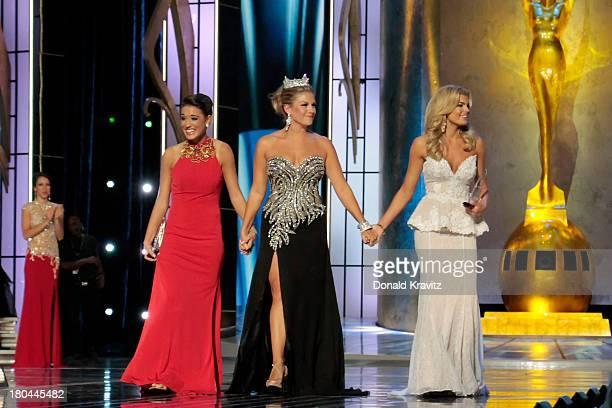 Miss Florida Myrrhanda Jones was named Thursday nights preliminary Talent winner Mallory Hagan Miss America 2013 and Miss Georgia Carly Mathis...
