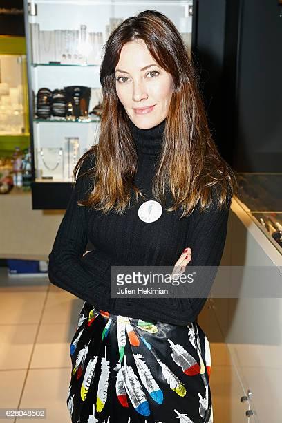 Miss France 1999 Mareva Galanter attends Les Bonnes Fees Julien D'Orcell Launch a Key Chain To Benefit for Les Bonnes Fees Association In Levallois...