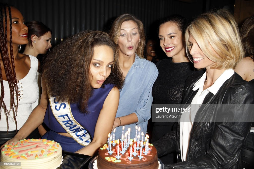 Alicia Aylies, Miss France 2017 : Surprise Birthday Party At BAM Karaoke Box In Paris