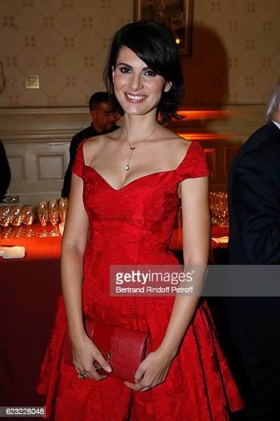Miss France 2004 Laetitia Bleger attends the 24th 'Gala de l'Espoir' at Theatre du Chatelet on November 14 2016 in Paris France