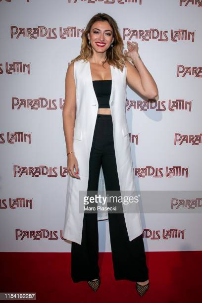 Miss France 2007 Rachel LegrainTrapani attends the L'Oiseau Paradis show at Le Paradis Latin on June 06 2019 in Paris France