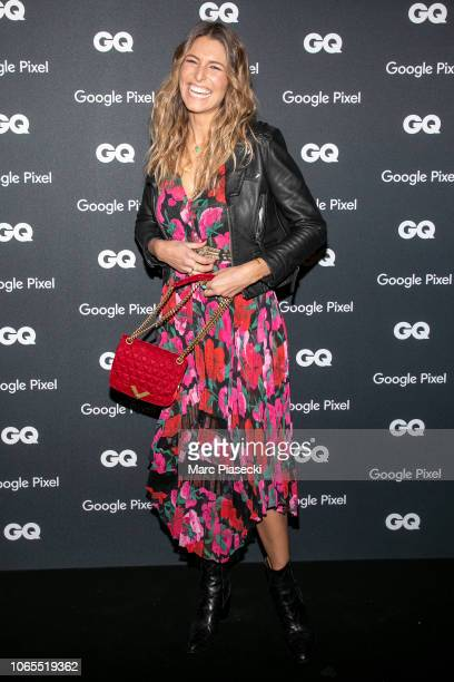 Miss France 2011 Laury Thilleman attends GQ Men Of The Year Awards 2018 at Centre Pompidou on November 26 2018 in Paris France