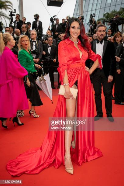 Miss France 2012 Delphine Wespiser attends the screening of Les Plus Belles Annees D'Une Vie during the 72nd annual Cannes Film Festival on May 18...