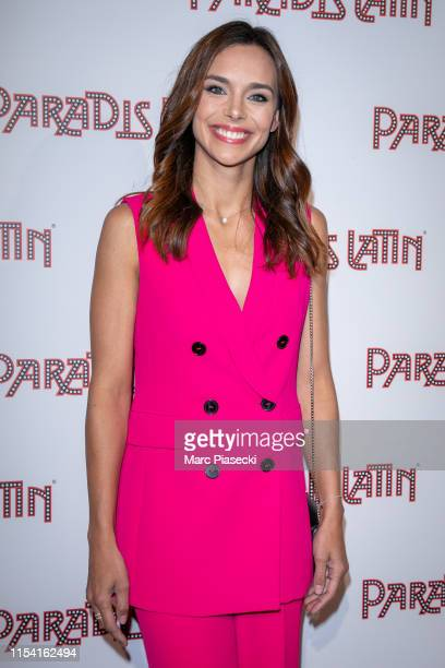 Miss France 2013 Marine Lorphelin attends the L'Oiseau Paradis show at Le Paradis Latin on June 06 2019 in Paris France