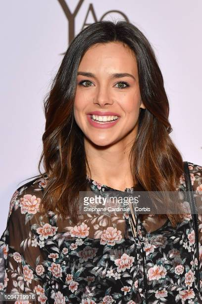 """Miss France 2013 Marine Lorphelin attends """"Yao"""" Paris Premiere at Le Grand Rex on January 15, 2019 in Paris, France."""