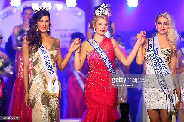 Miss France 2016 Iris Mittenaere attends a local miss election as she was Miss NordPasdeCalais in northern France October 10 2015 Iris Mittenaere is...