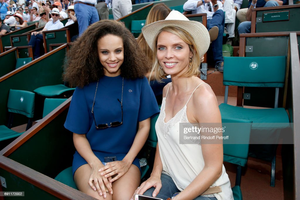 Celebrities At  2017 French Open - Day Five