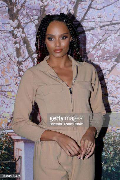 "Miss France 2017 Alicia Aylies attends Disney's ""Mary Poppins Returns Paris Gala Screening at UGC Cine Cite Bercy on December 10 2018 in Paris France"