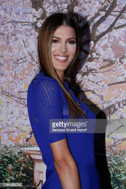 """Miss France and Miss Universe 2016 Iris Mittenaere attends Disney's """"Mary Poppins Returns"""" Paris Gala Screening at UGC Cine Cite Bercy on December..."""