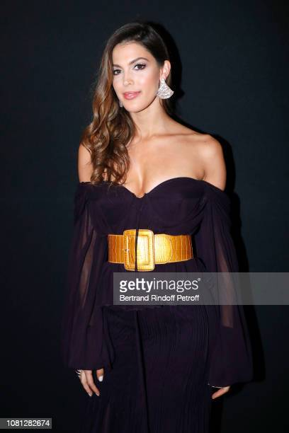 Miss France and Miss Universe 2016 Iris Mittenaere attends the Annual Charity Dinner hosted by the AEM Association Children of the World for Rwanda...