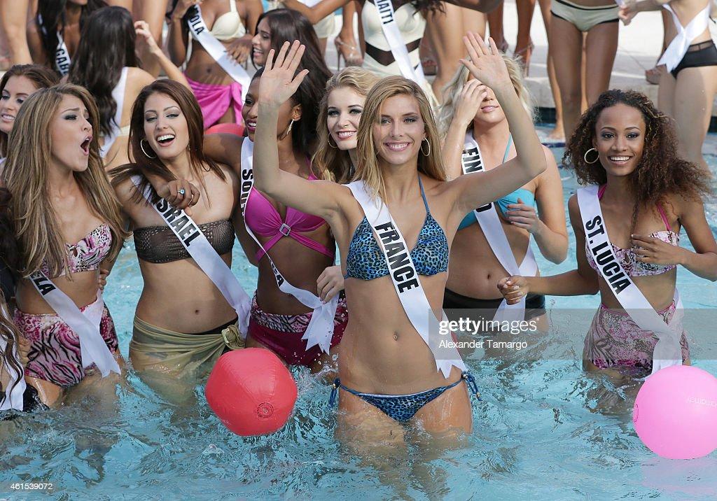 Miss Universe - Yamamay Swimsuit Runway Show : News Photo