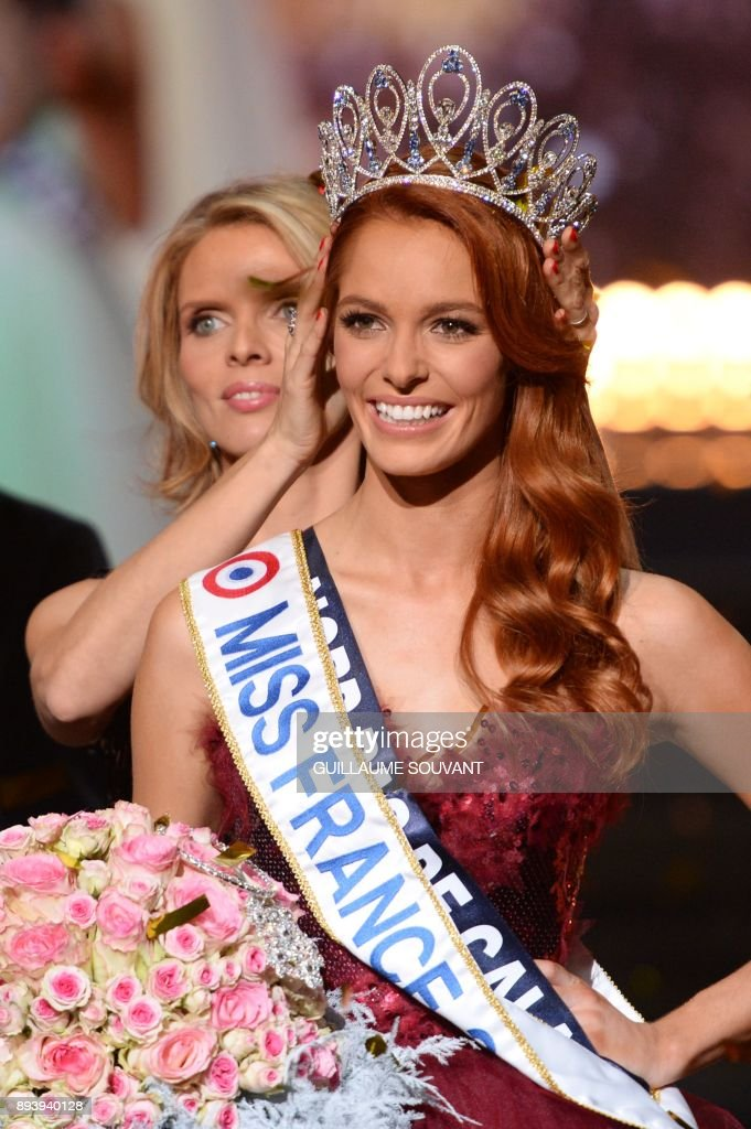 Miss France Director And Miss France 2002 Sylvie Tellier Adjusts The News Photo Getty Images