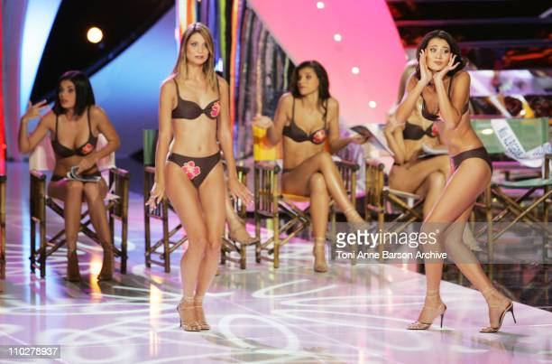 Miss France Pageant Contestants during Miss France 2006 Pageant at Palais des Festivals in Cannes France