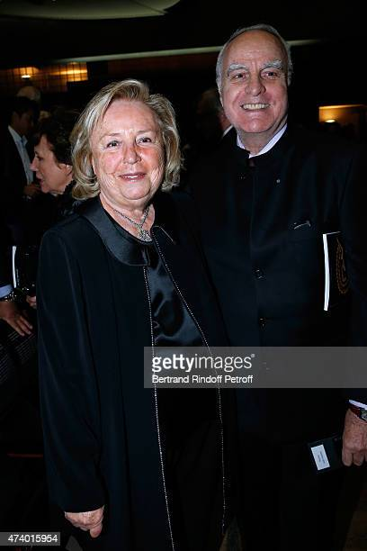 Miss Francois Pinault and Andre Dunstetter attend the AROP Charity Gala with the Opera 'Le Roi Arthus', Music and Libretto from Ernest Chausson. Held...