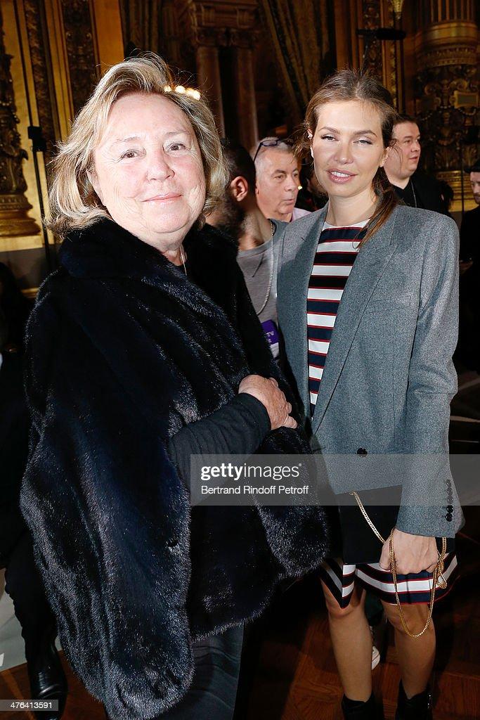 Stella McCartney : Front Row  - Paris Fashion Week Womenswear Fall/Winter 2014-2015