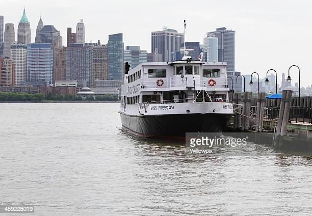 Miss Freedom Ferry Boat at Liberty State Park, New Jersey