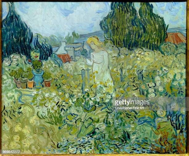 Miss Gachet in her garden at Auvers sur Oise 1890 Van Gogh Vincent Orsay Museum France