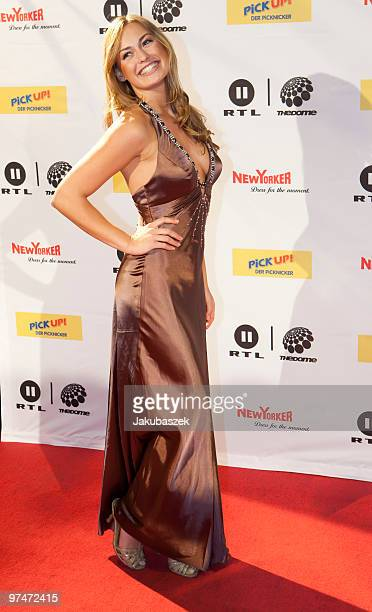 Miss Germany 2010 Anne Julia Hagen attends ''The Dome 53'' concert event at the Velodrom on March 5 2010 in Berlin Germany