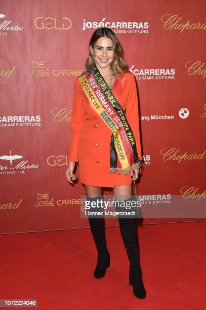 Miss Germany Anahita Rehbein during the 24th Annual Jose Carreras Gala at Bavaria Studios on December 12 2018 in Munich Germany