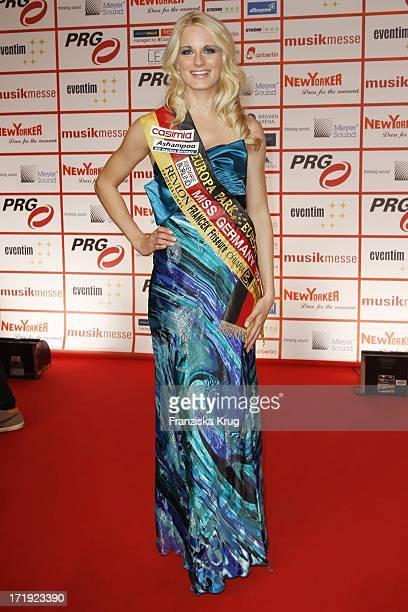 Miss Germany AnneKathrin Kosch Bei Der Verleihung Der Lea Awards In Der Frankfurter Festhalle In Frankfurt