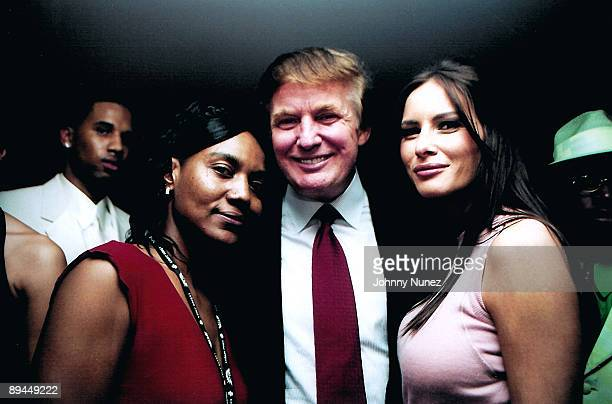 Miss Gloria Donald Trump and guest