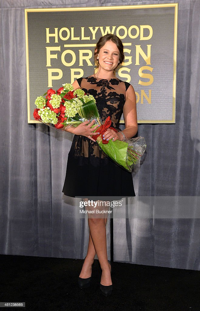 The Hollywood Foreign Press Association & InStyle Celebrate The 2014 Golden Globe Awards Season and Miss Golden Globe