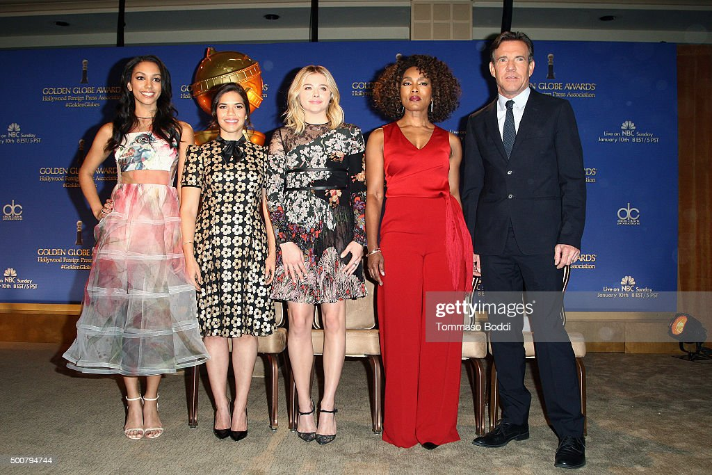 73rd Annual Golden Globe Awards Nominations Announcement : News Photo