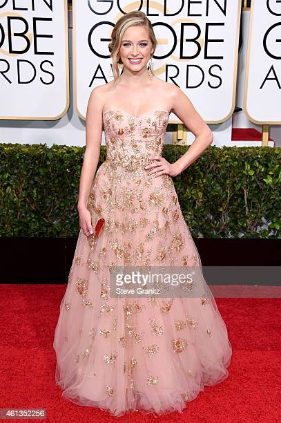 Miss Golden Globe Greer Grammer attends the 72nd Annual Golden Globe Awards at The Beverly Hilton Hotel on January 11, 2015 in Beverly Hills,...