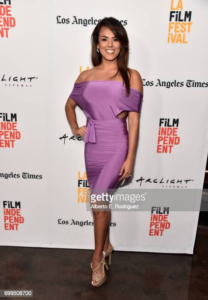 Miss Guatemala 2016 Virginia Argueta attends the screening of Fat Camp during the 2017 Los Angeles Film Festival at ArcLight Santa Monica on June 21...