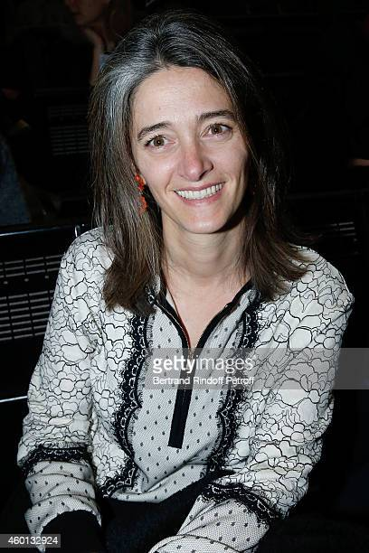 Miss Guillaume Gallienne attends the Matinee 'Reve d'enfants' with Ballet 'Casse Noisette' Organized by AROP at Opera Bastille on December 7 2014 in...