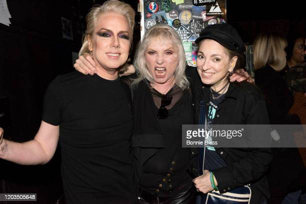 Miss Guy Debbie Harry and Palmyra Delran attend Princess Goes To The Butterfly Museum In Concert at Mercury Lounge on February 01 2020 in New York...