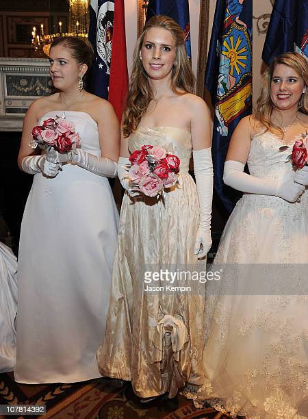 Miss Hadley Marie Nagel attends the 56th International Debutante Ball at The Waldorf Astoria on December 29 2010 in New York City