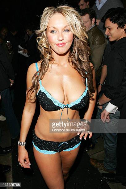 Miss Hawaiian Tropic finalist during 23rd Miss Hawaiian Tropic International Pageant UK Final and Party at The Collection in London Great Britain