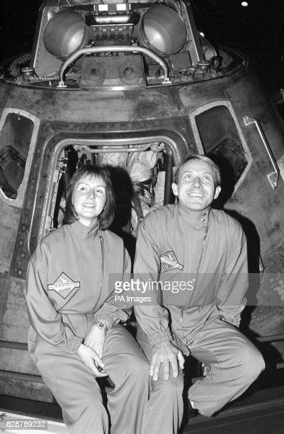 Miss Helen Sharman a research technologist and Timothy Mace a Major in the Army Air Corps aged 34 who were chosen as the two Britons to go to the...