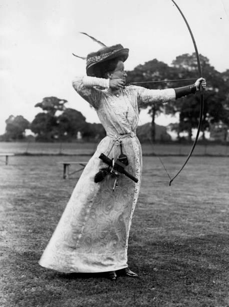 Archery 1910 Wall Art