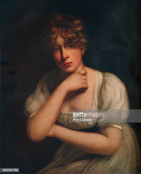 Miss Holcroft c18th century From The Connoisseur Vol XLIV by [Otto Limited London 1916]