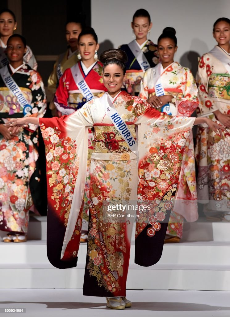 JAPAN-PAGEANT-MISSINTERNATIONAL : News Photo