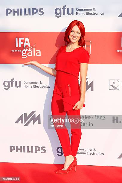 Miss IFA attends the IFA 2016 opening gala on September 1 2016 in Berlin Germany