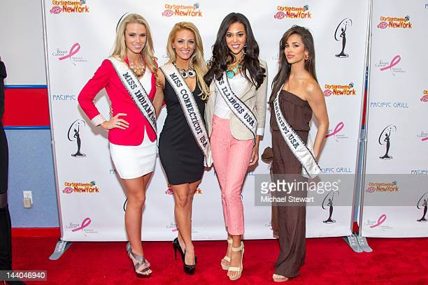 Miss Indiana USA Megan Myrehn Miss Connecticut USA MarieLynn Piscitelli Miss Illinois USA Ashley Hooks and Miss Mississippi USA Myverick Garcia...