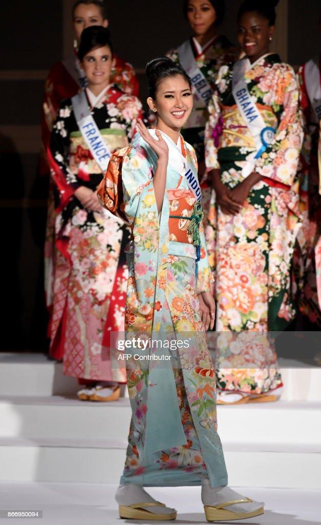 JAPAN-PAGEANT-MISSINTERNATIONAL : News Photo