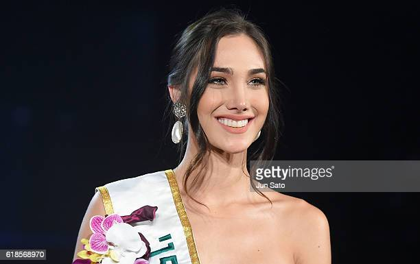 Miss International 2015 Edymar Martinez during the 56th Miss International Beauty Pageant at Tokyo Dome on October 27 2016 in Tokyo Japan