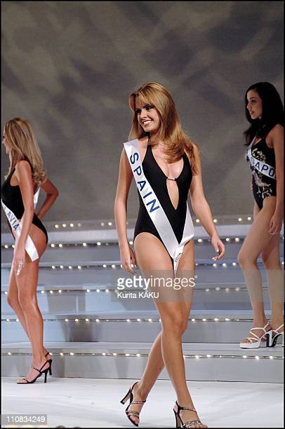 Miss International Beauty Pageant 2001 In Tokyo Japan On October 04 2001 Miss Spain Ayola Molina Carrasco