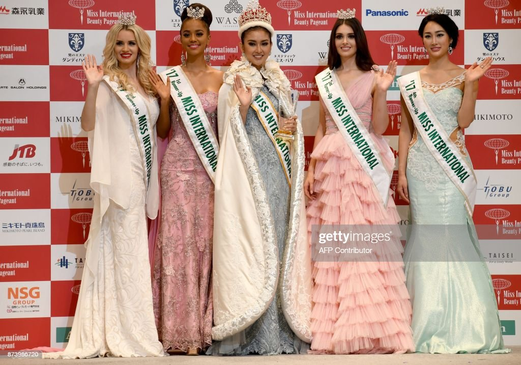 JAPAN-PAGEANT-MISS INTERNATIONAL : News Photo