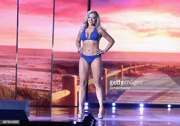 Miss Iowa, Taylor Wiebers attends the Thursday Night Preliminaries - 2016 Miss America Competition at Atlantic City Boardwalk Hall on September 10,...
