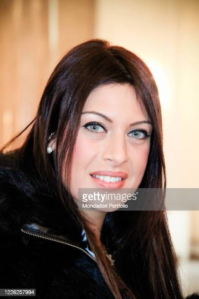 Miss Italy 2010 Francesca Testasecca the press conference for the presentation of the Rai program L'anno che verra 'which will take place in Piazzale...