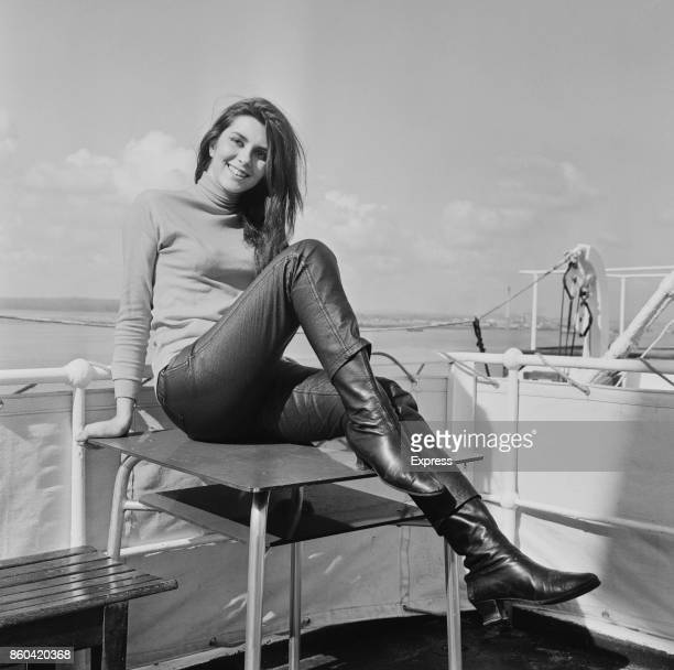 Miss Italy and actress Daniela Giordano UK 31st March 1967