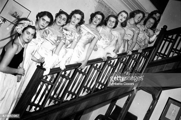 Miss Italy beauty contest, 1948.
