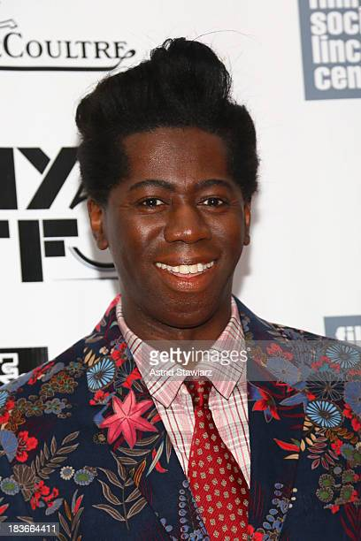 Miss J Alexander attends the 12 Years A Slave Nebraska premieres during the 51st New York Film Festival at Alice Tully Hall at Lincoln Center on...