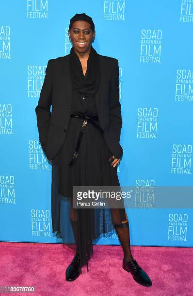 Miss J. Alexander attends the opening reception for the 22nd SCAD Savannah Film Festival on October 26, 2019 at Trustees Theater in Savannah, Georgia.