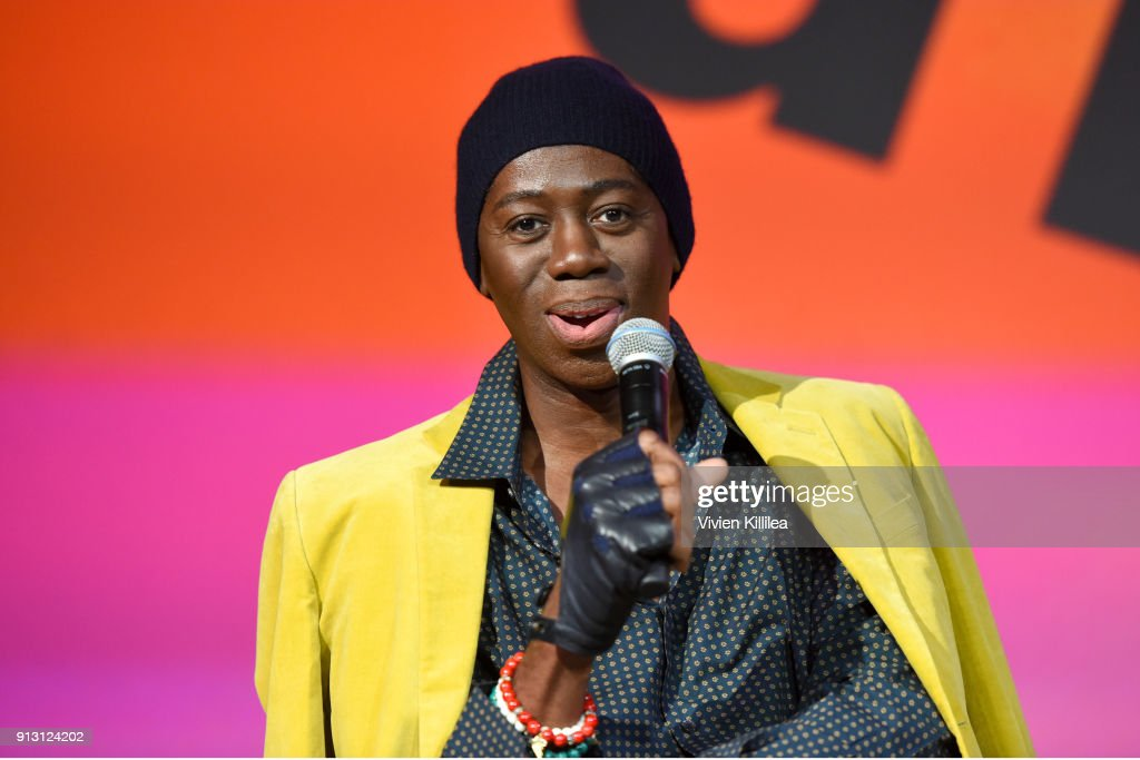 Miss J. Alexander speaks onstage during the Meet the Runway With Miss J panel on Day 1 of the SCAD aTVfest 2018 on February 1, 2018 in Atlanta, Georgia.